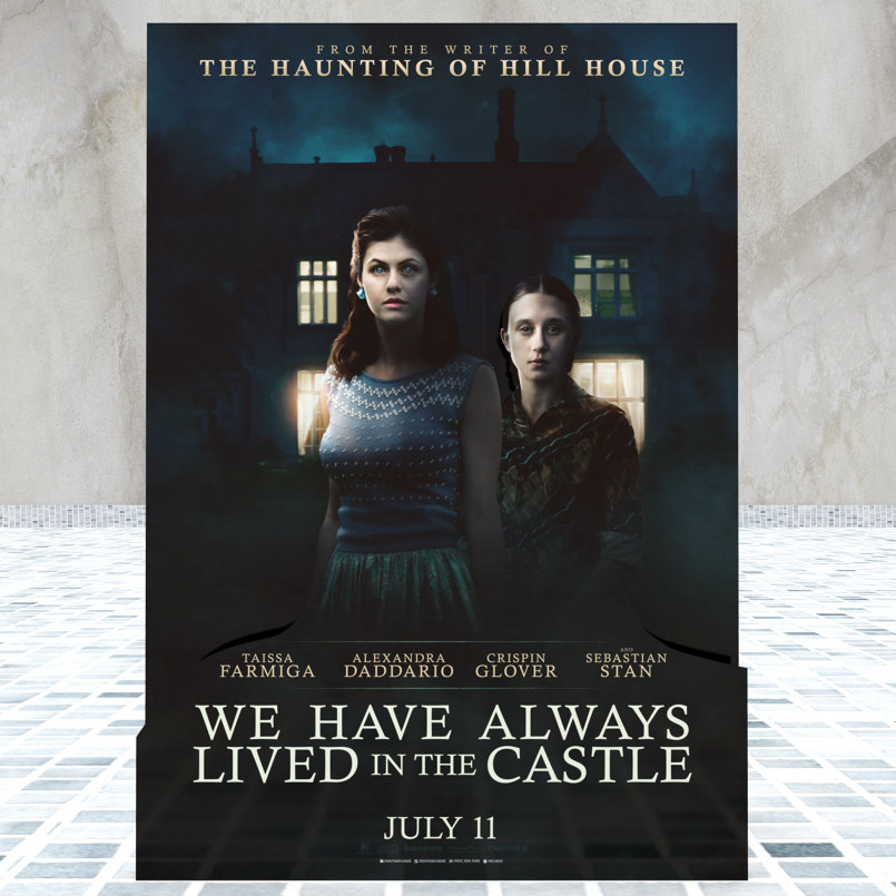 We Have Always Lived in the Castle - Standee - Prospective 3