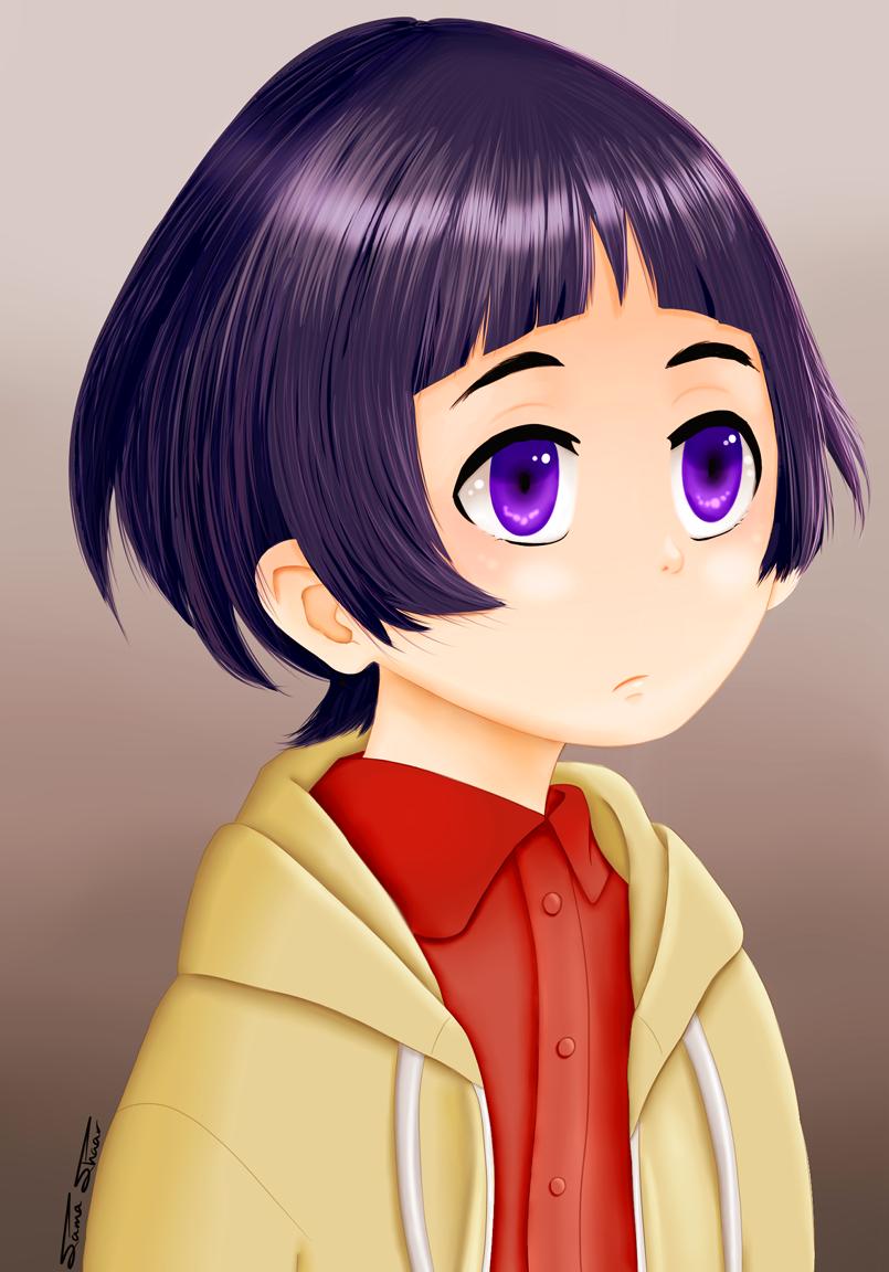 شخصية Hiromi من مسلسل الانمي الشهير Erased