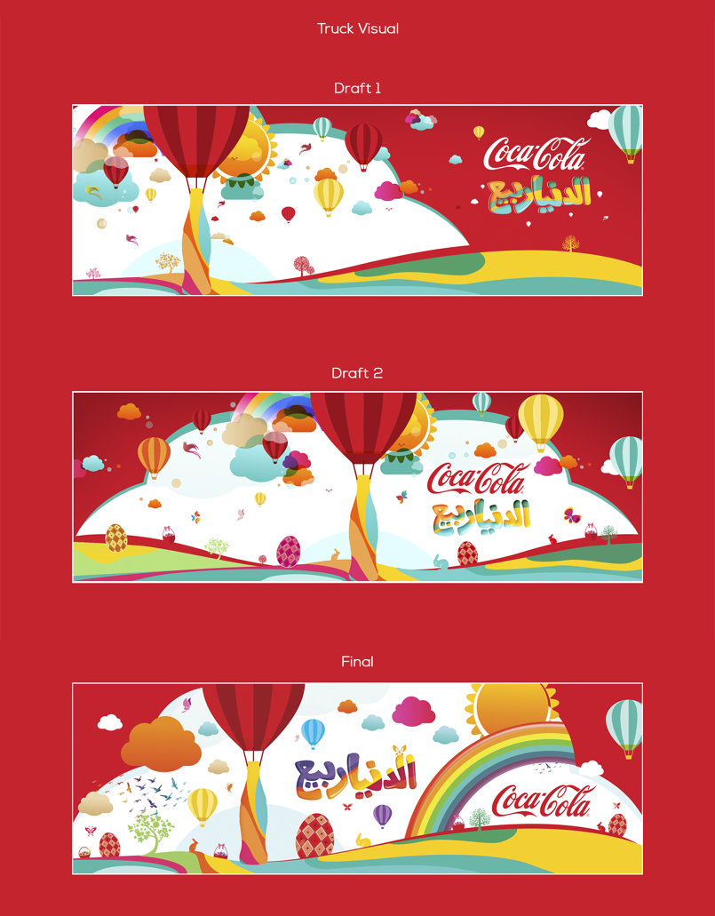 Coca Cola Easter