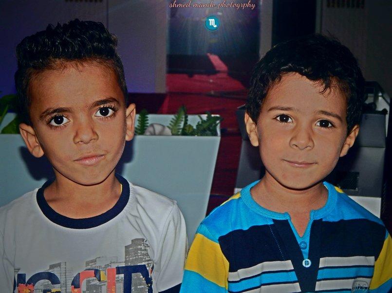 الاطفال الحلوين الي في مصر