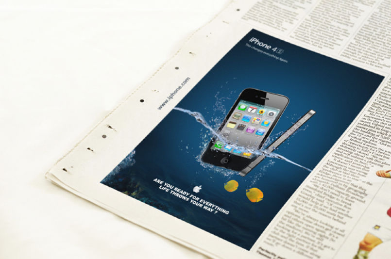 IPHONE 4S ADS