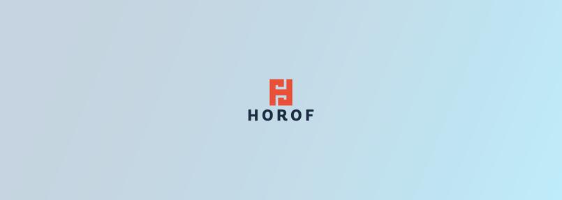 تصميم لشعار Horof