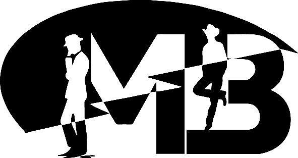 لوجو شركة مستر باك للملابس الرجالى