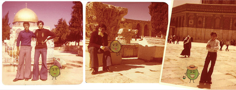 Zatooneh's eyes Dana Qabbani offers us glimpses from her family history and life in Palestine.