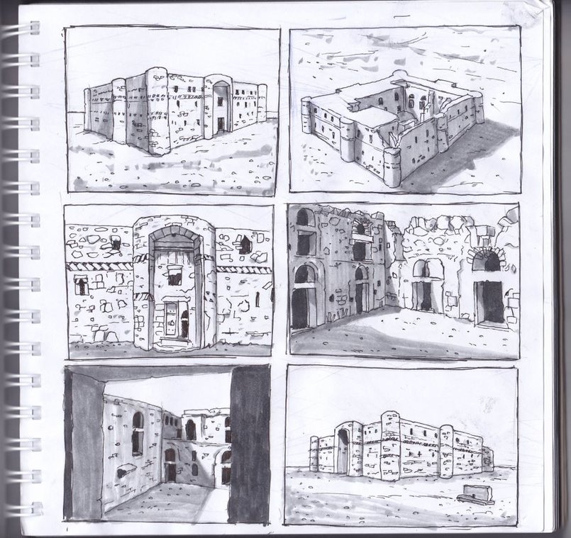1 - Sketches