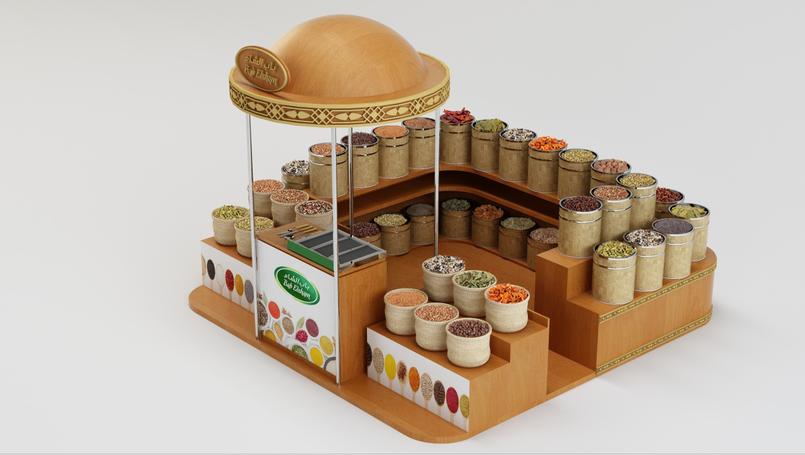 Bab el sham Booth