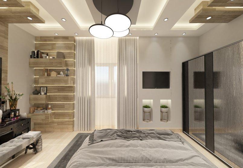 تصميم غرفه رئيسيه صغيره