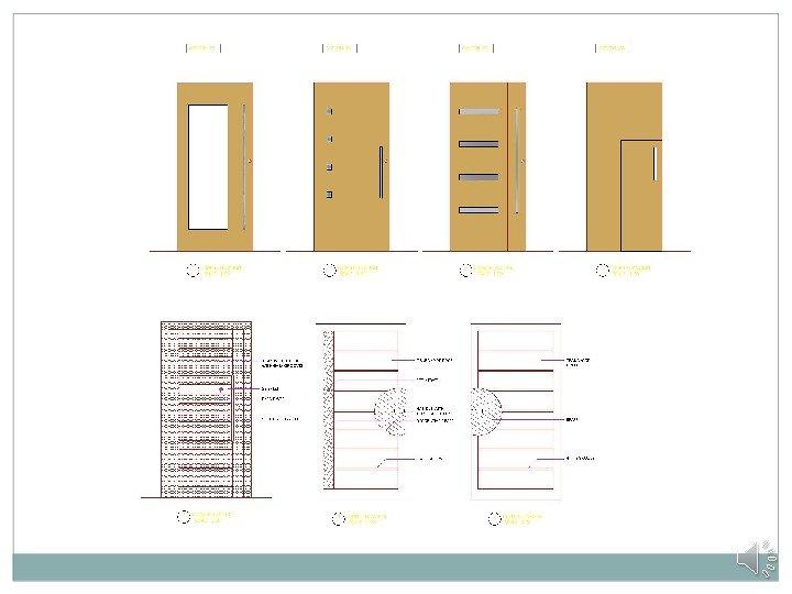 Door Designing And Detailing