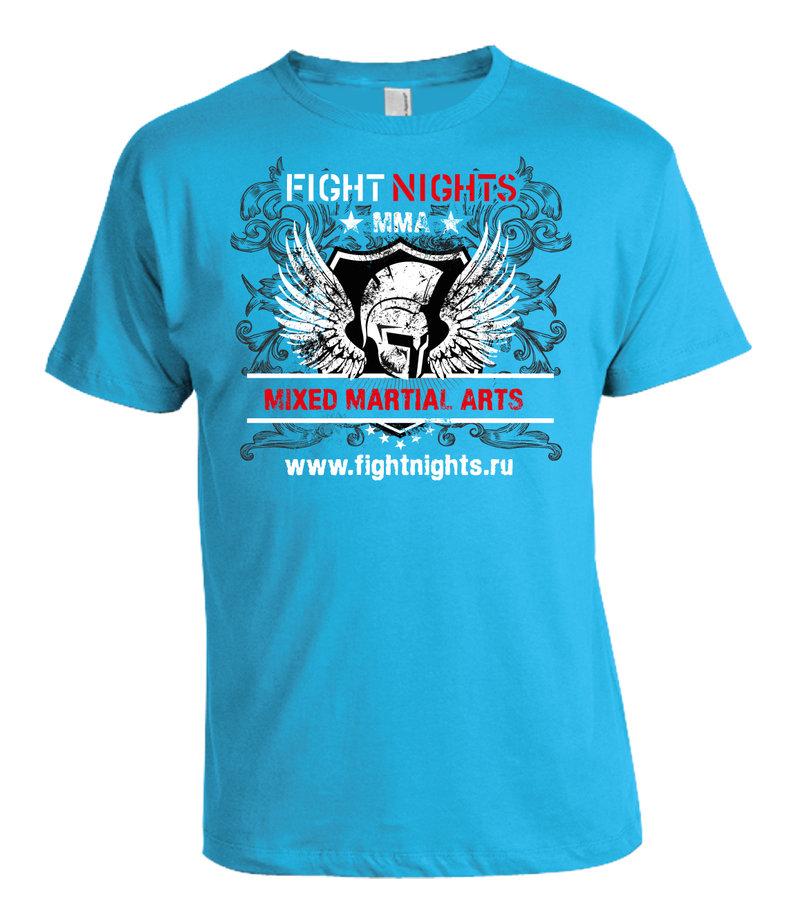 Fight nights T shirts design (Russia)