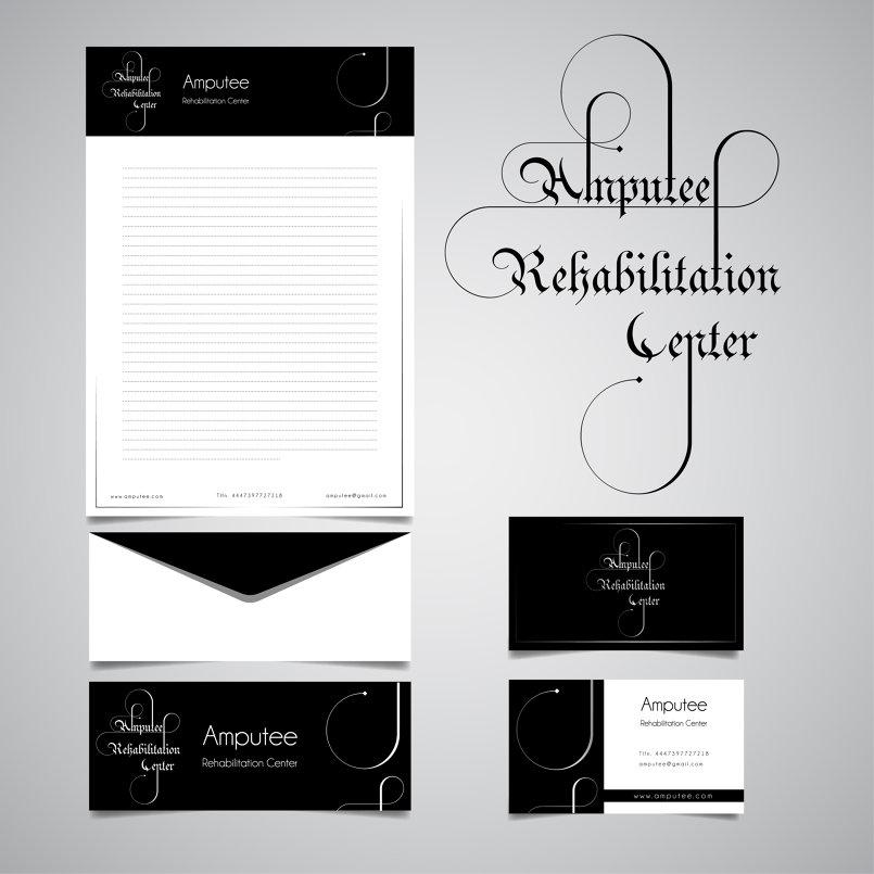 logo Amputee Rehabilitation Center ARC (Typography)