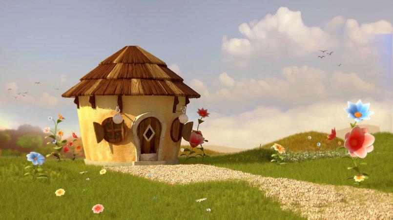 cartoon environment