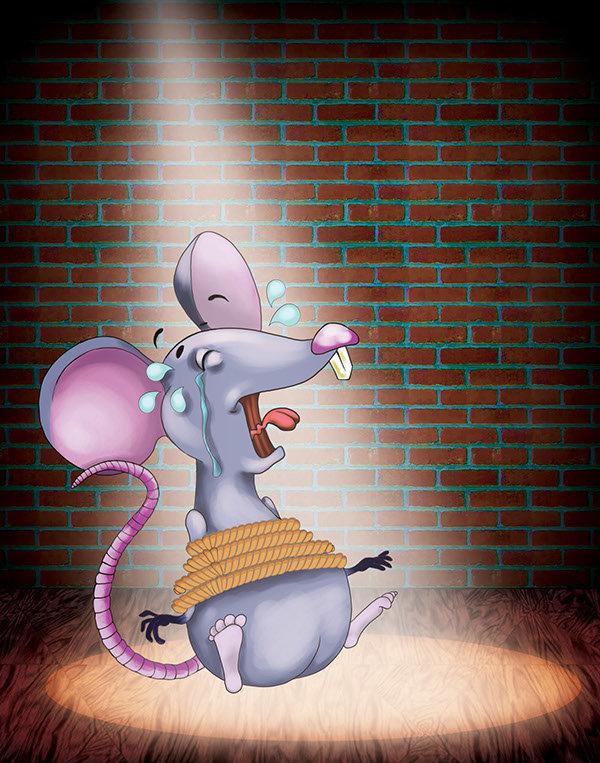 قصه الفأر السارق