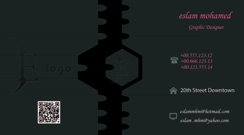 business card كرت شخصى