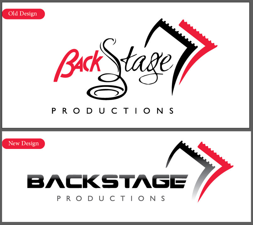 Backstage Company logo and Ramadan rollup