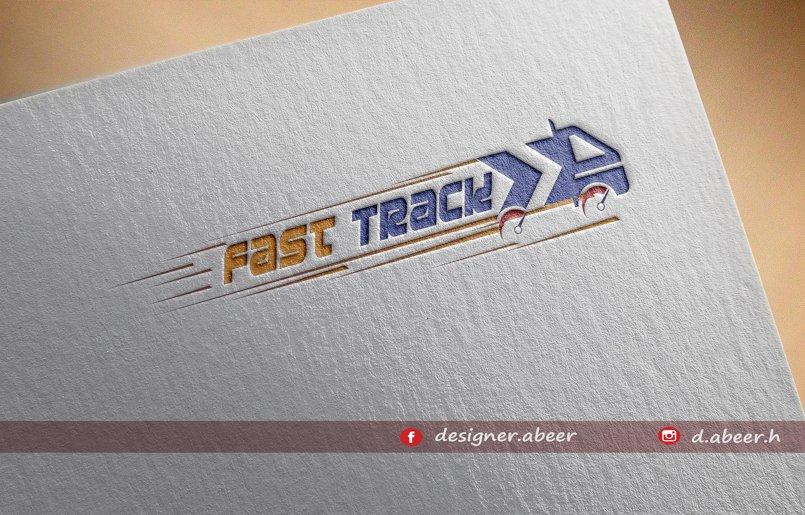 شعار شركة فاست تراك