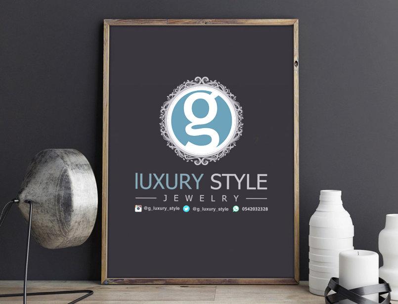 luxury style logo desgine