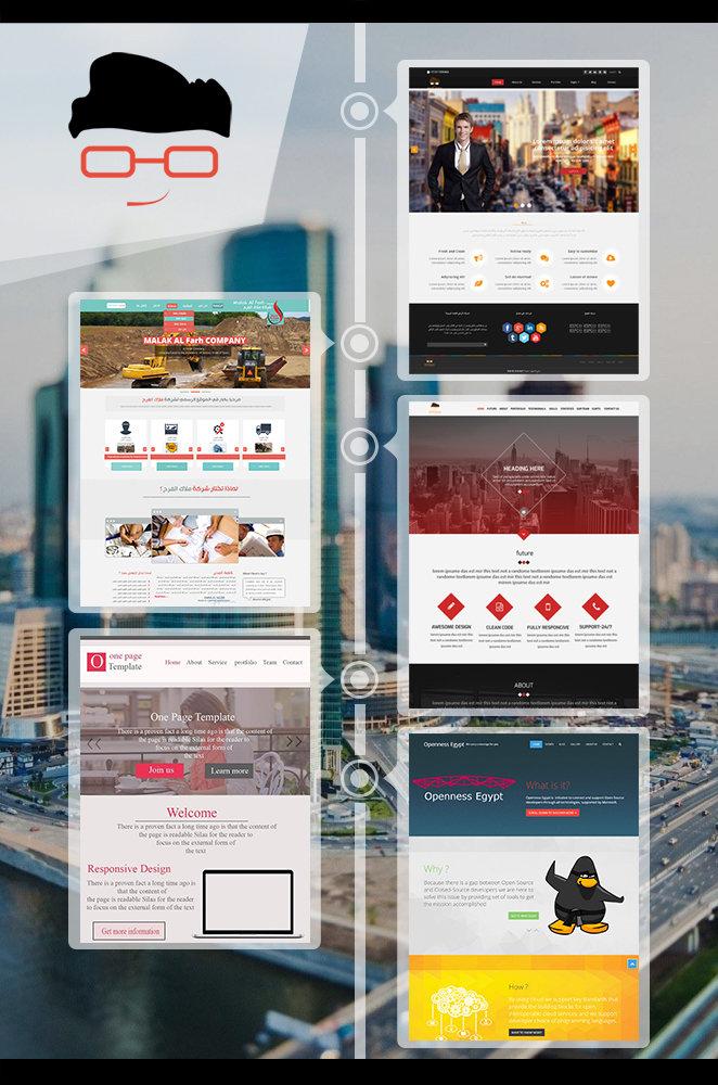 اعمال شركه نيردز ارينا لانشاء وتصميم المواقع