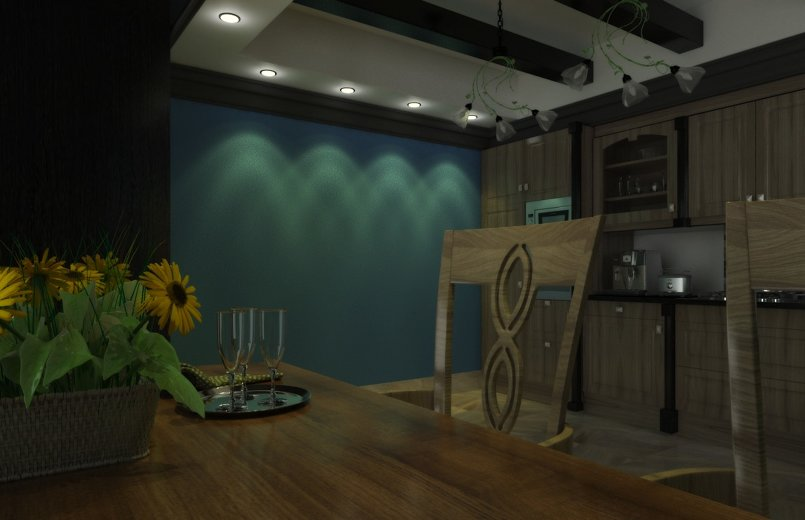 3D modeling Interior design