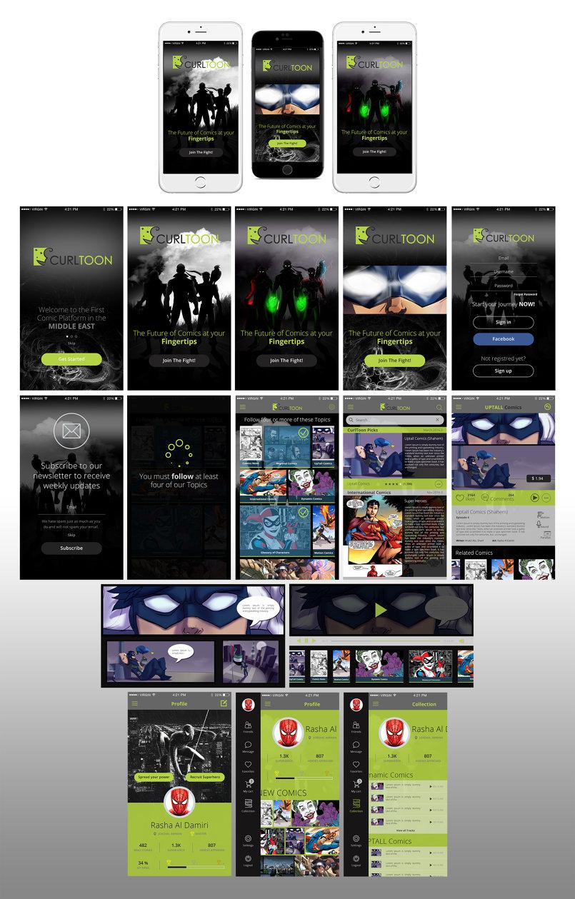 Comics Reader-App