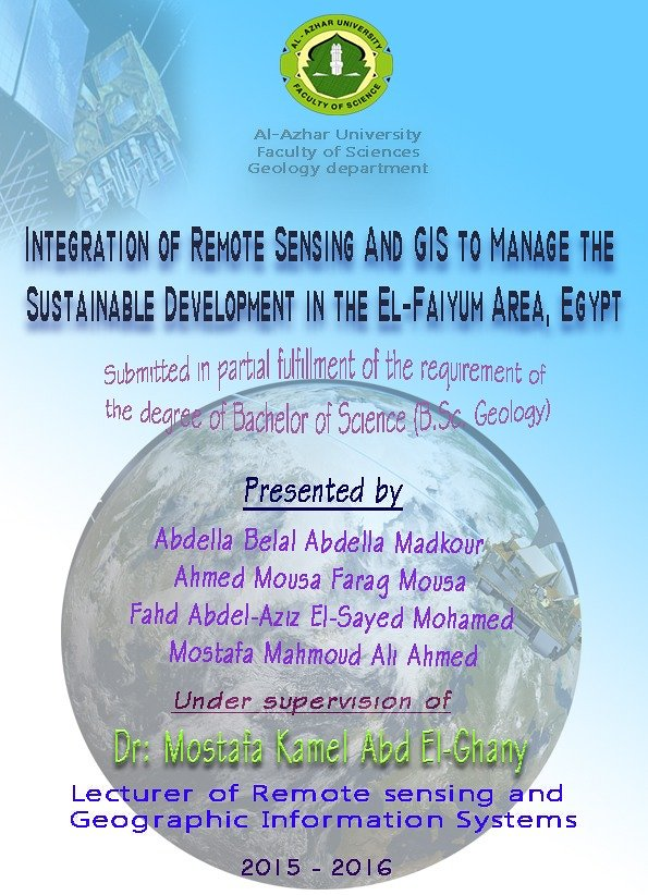 Integration of Remote Sensing and Geographic Information System