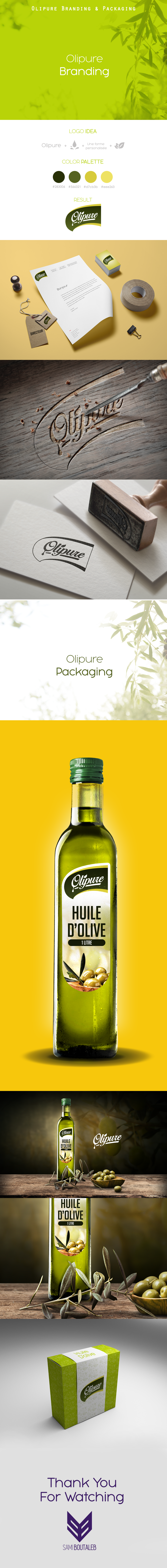 Olipure - Branding & Packaging