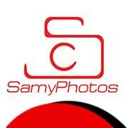 Samy Photos online store camera Logo  + Facebook cover