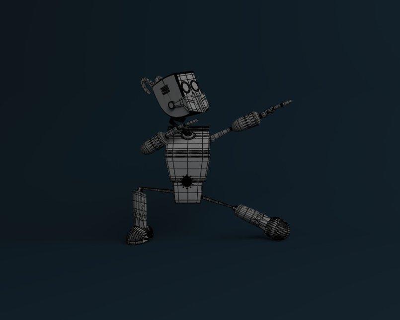 3D modeling robot ( Rodrigo )