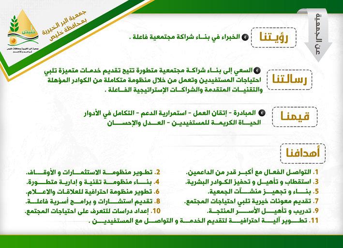 تقرير جمعية البر بخليص (سنبلات خضر)