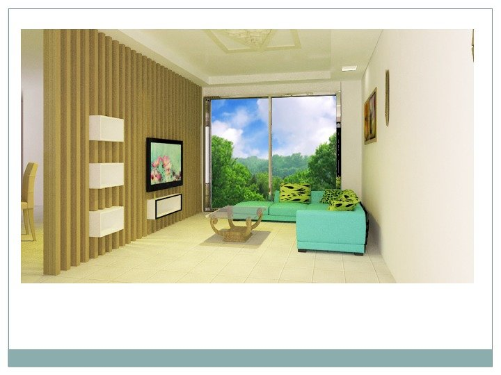Conceptional Interior Living Room 3ds Max Renderd View