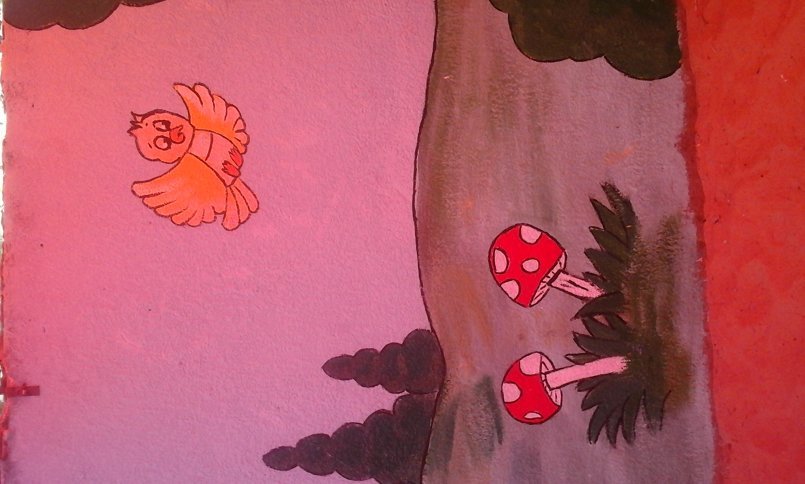 رسم جداريات للمشاريع المختصة بالاطفال