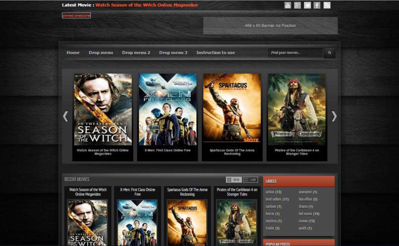 website (movie review)