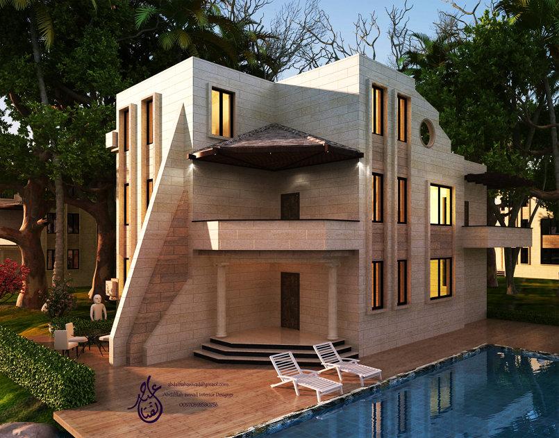 External design of a house