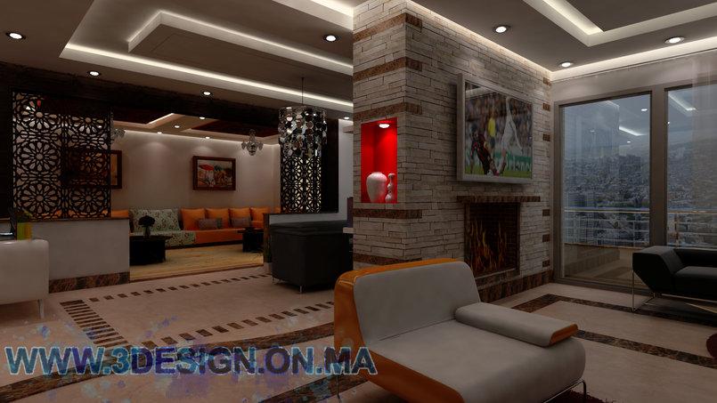 شقة  ثلاثية الأبعاد