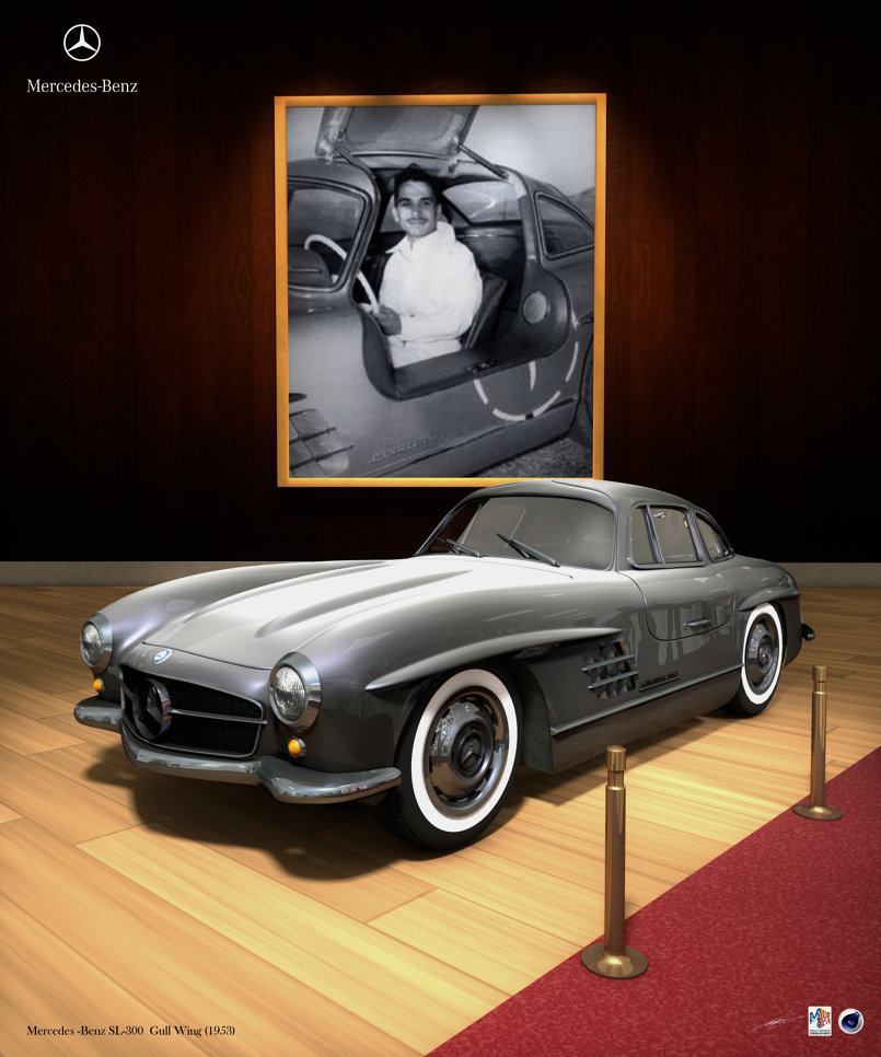 Mrcedes Benz Gull wing SL-300