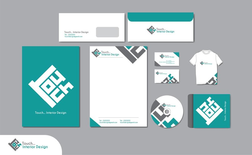 (Touch Interior Design  (LOGO + identity