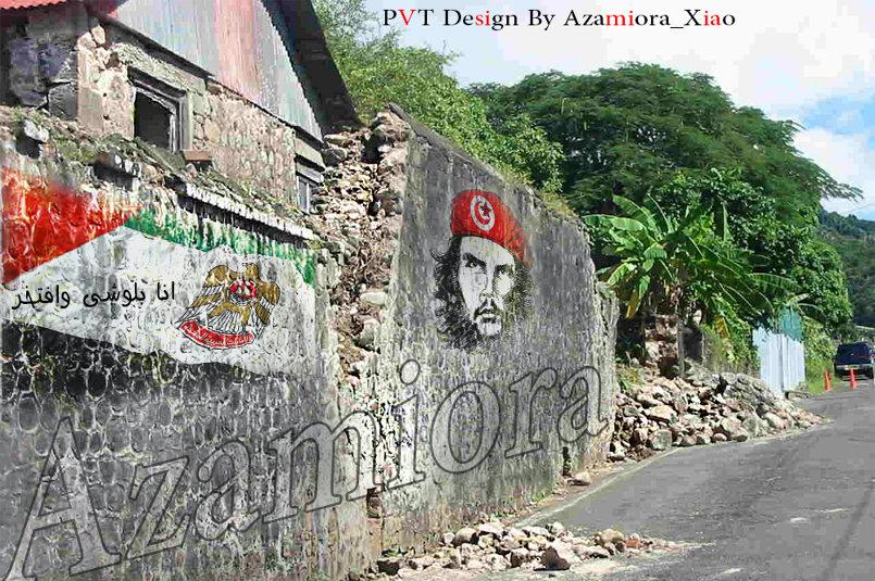 wall paint uae flag & chego