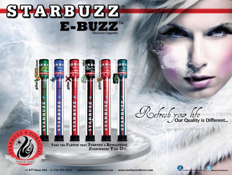 1 - StarBuzz E-Buzz Poster