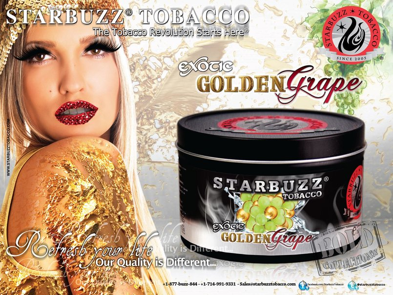 StarBuzz Tobacco Bold Golden Grape