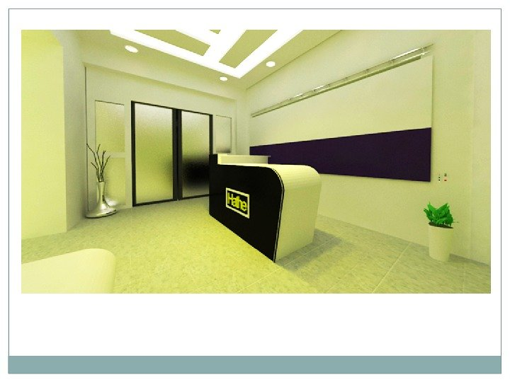 Conceptional Interior Reception Area 3ds Max Renderd View