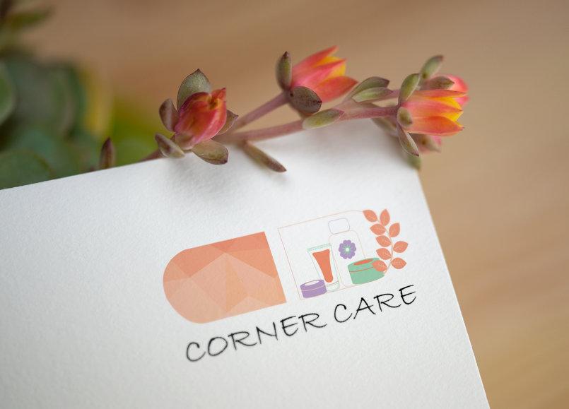 تصميم  لشركه corner care