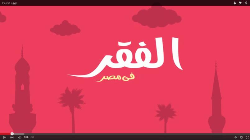 موشن جرافيك  Poor in egypt -نيردز ارينا