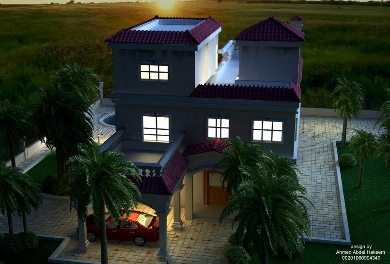 تصميم فيلا - villa design