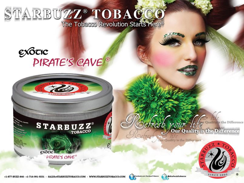 StarBuzz Tobacco Poster Cave