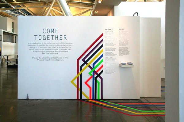 come together: MFA exhibition show