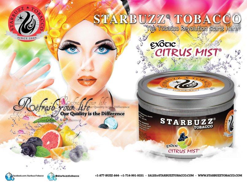 StarBuzz Tobacco Citrus Mist Poster