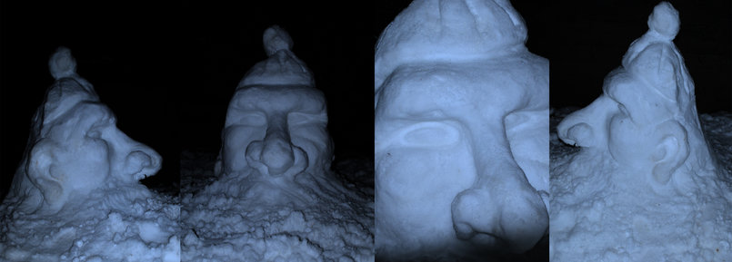 snow santa