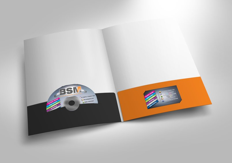 Design and Print your Folder