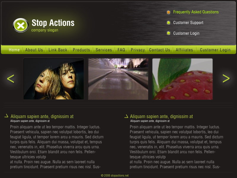web site