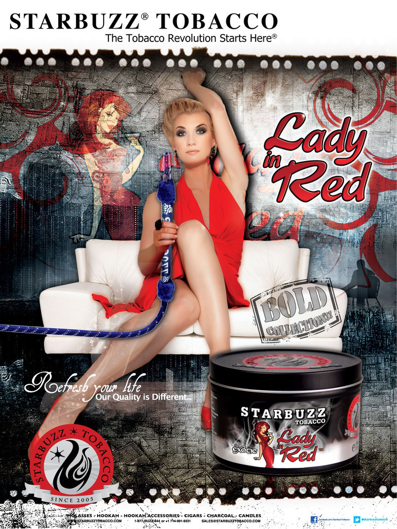 StarBuzz Poster Lady In Red