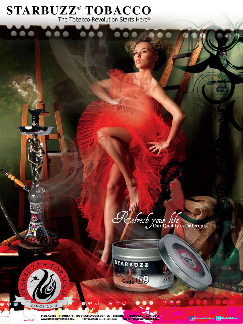 StarBuzz Tobacco Code 69 Poster